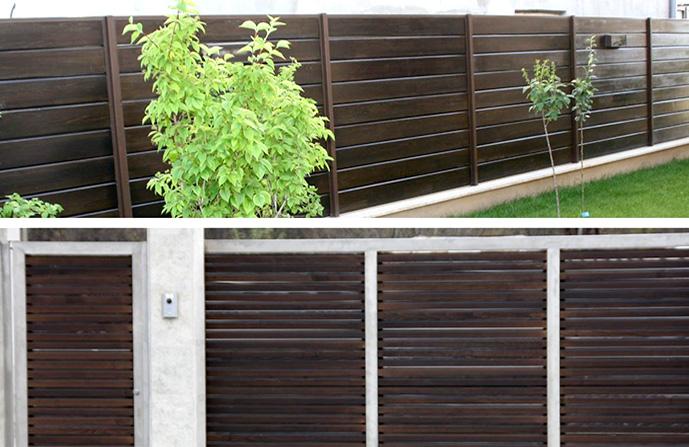 gard lemn stratificat