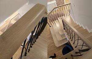 scari interior lemn stratificat