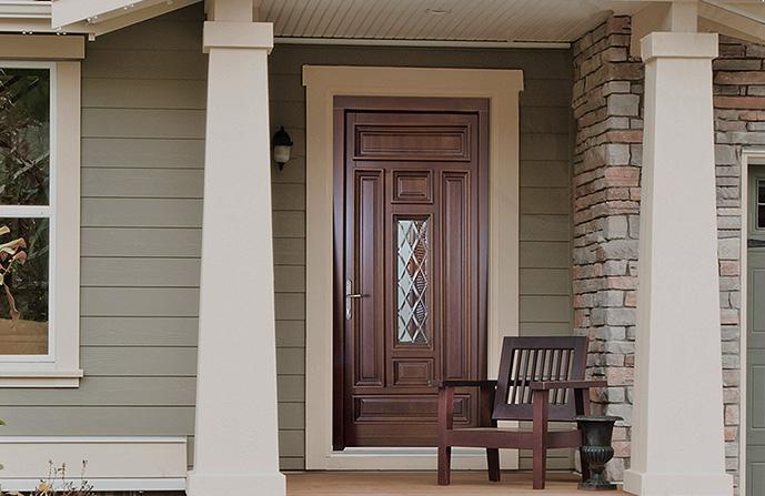 usa exterior lemn stratificat CLASIC