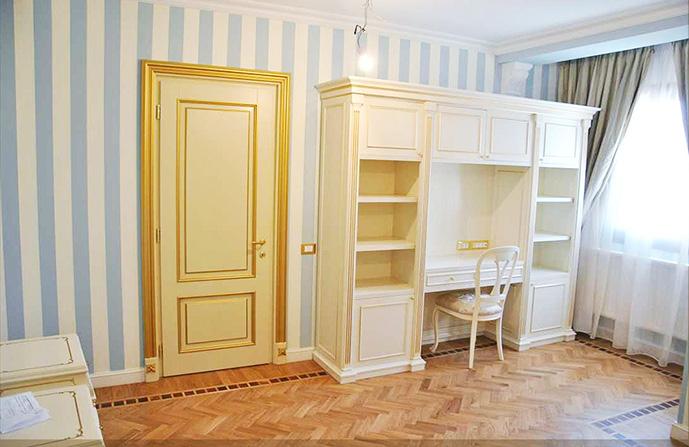 usa interior lemn stratificat CLASICA PATINATA