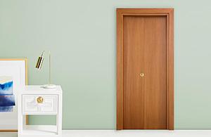 Interior doors laminated wood